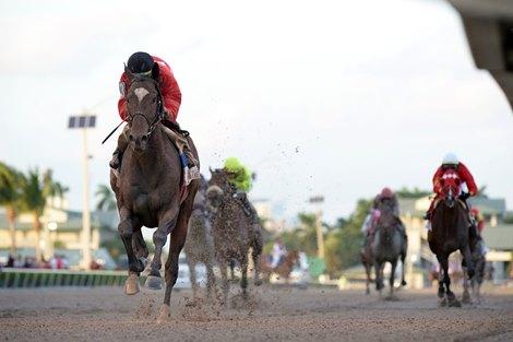 Kukulkan wins the 2018 Clásico del Caribe at Gulfstream Park