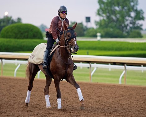 Maximum Security Works First Time Since Kentucky Derby