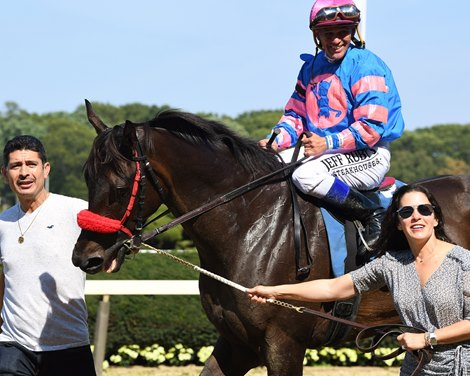 Code of Honor Has First Work Since Gold Cup at Belmont