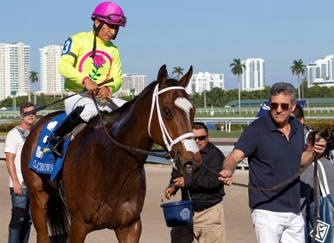 Leitone Tops Claiming Crown Action With Jewel Win