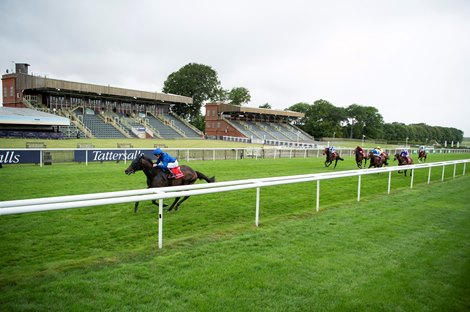 Al Suhail (William Buick) wins the Bahrain International Sir Henry Cecil Stakes (Listed race) Newmarket 9.7.20