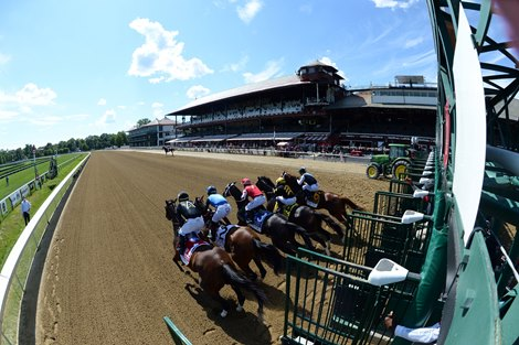 Vexatious wins the 2020 Personal Ensign Stakes at Saratoga