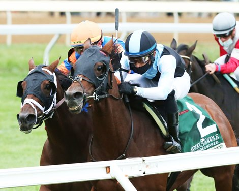 Blame Debbie wins 2020 Dowager Stakes at Keeneland