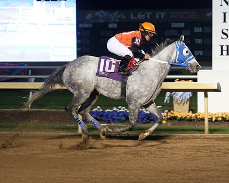 Piedi Bianchi wins 2020 Frances Slocum Stakes at Indiana Grand
