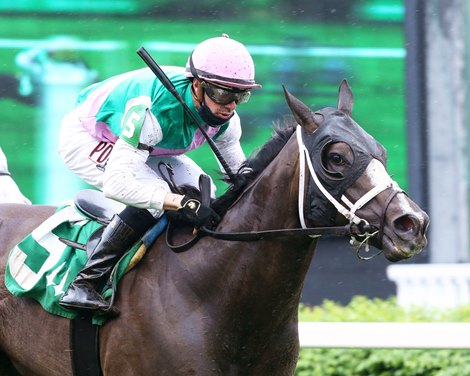 Set Piece wins the 2021 Opening Verse Overnight Stakes at Churchill Downs