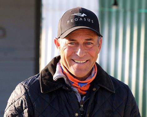 Gary Stevens at Churchill Downs on April 26, 2021