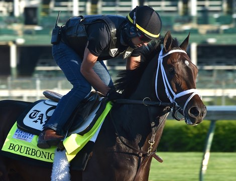 Churchill Downs April 27, 2021: Bourbonic, Hector Ramos up