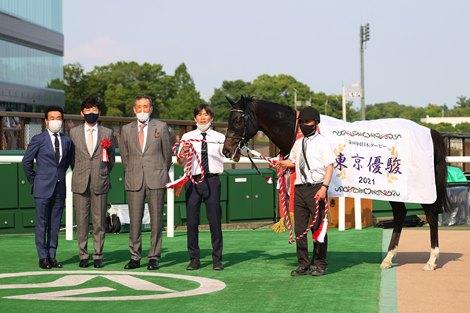 Shahryar wins the Tokyo Yushun (Japanese Derby) Sunday, May 30, 2021 at Tokyo Racecourse