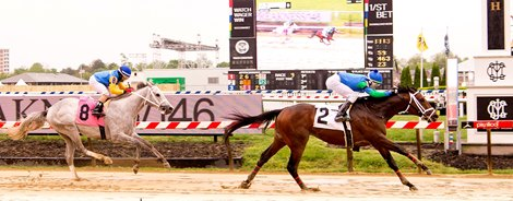 American Patrol wins a maiden special weight May 7, 2021 at Pimlico