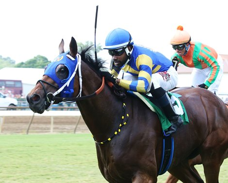 Betwithbothhands wins the KY Downs TVG Preview Mint Million Stakes Sunday, August 8, 2021 at Ellis Park